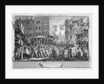 The Industrious 'Prentice Lord Mayor of London by William Hogarth