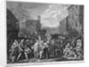 A Representation of the March of the Guards towards Scotland in the Year 1745 by William Hogarth