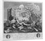 Bathos, Manner of Sinking, in Sublime Paintings inscribed to the Dealers in Dark Pictures by William Hogarth
