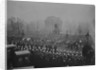 Queen Victoria's funeral cortege passes Wellington Arch, 2nd February 1901 by English Photographer