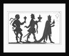 Silhouette of the Three Kings by English School