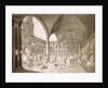 Interior of the Royal Exchange, London by Francesco Bartolozzi