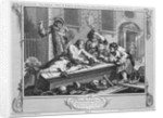 The Idle 'Prentice at Play in the Church Yard During Divine Service by William Hogarth