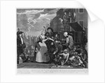 Arrested for Debt by William Hogarth