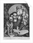 The Bruiser Charles Churchill, once the Reverend, in the Character of a Russian Hercules by William Hogarth