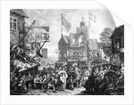 Southwark Fair by William Hogarth