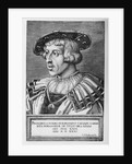 Portrait of Ferdinand I of Habsburg by Barthel Beham