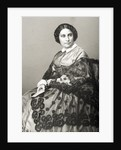 Madame Caroline Marie Felix Miolan-Carvalho engraved by D.J. Pound from a photograph by John Jabez Edwin Paisley Mayall