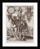 Charles I as Prince of Wales on Horseback by Renold Elstrack