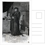 Desiderius Erasmus, 'Restorer of the Latin language' by Dutch School