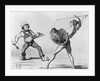 Battle of the Schools - Idealism and Realism by Honore Daumier