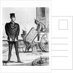 'The New Victory Chariot', caricature from 'Le Charivari', 20 February by Honore Daumier