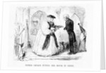Mother church putting her house in order, cartoon from 'Punch' by English School