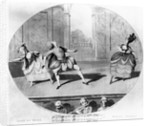 A scene from the ballet 'Jason et Medee' by English School