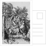 The Flight into Egypt by Martin Schongauer