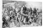 Christ bearing his cross by Martin Schongauer