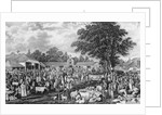 Woburn Sheepshearing by George Garrard