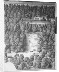 Boscobel House and Park by Wenceslaus Hollar