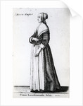 London Citizen's Daughter by Wenceslaus Hollar