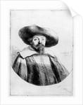 Samuel Manasseh Ben Israel by Rembrandt Harmensz. van Rijn