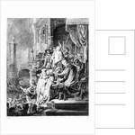 The Judgement of Christ by Rembrandt Harmensz. van Rijn