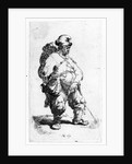A man urinating by Rembrandt Harmensz. van Rijn