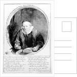 Jan Cornelisz Sylvius by Rembrandt Harmensz. van Rijn