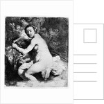 Diana at the bath by Rembrandt Harmensz. van Rijn