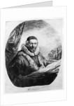 Jan Uytenbogaert, Preacher of the Remonstrants by Rembrandt Harmensz. van Rijn