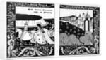 How Queen Guenever Rode on Maying by Aubrey Beardsley