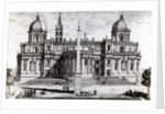 Basilica of Santa Maria Maggiore by Alessandro Specchi