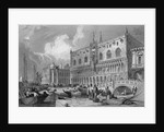 The Grand Canal and Doge's Palace, Venice by Samuel Prout