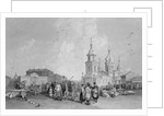 The Haymarket, St. Petersburg by Alfred Gomersal Vickers