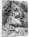 The Nativity by Giovanni Benedetto Castiglione