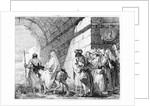 The Flight into Egypt by Giandomenico Tiepolo