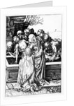 The Entombment by Martin Schongauer