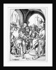 Christ before Annas by Martin Schongauer