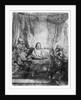 Supper at Emmaus by Rembrandt Harmensz. van Rijn