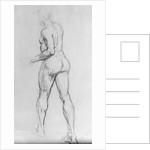 Study of a nude woman by Isaac Rosenberg