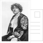 Fanny Stevenson, wife of Robert Louis Stevenson by English Photographer