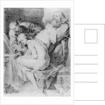 Susanna and the Elders, drawn by Lucas Vorsterman by Peter Paul Rubens