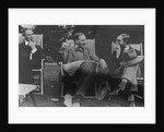 Bertrand Russell, J. M. Keynes and Lytton Strachey by English Photographer