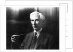 Bertrand Russell by English Photographer