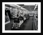 Interior of a Woolworths store by English Photographer