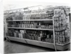 Household requisites aisle, Woolworths store by English Photographer