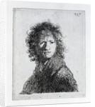 Self Portrait by Rembrandt Harmensz. van Rijn