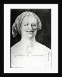 Portrait of a peasant woman by Albrecht Dürer or Duerer