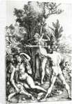 Hercules at the crossroad by Albrecht Dürer or Duerer