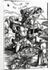 St. Christopher with the flight of birds by Albrecht Dürer or Duerer