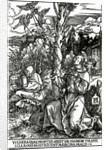 St. Francis receiving the Stigmata by Albrecht Dürer or Duerer